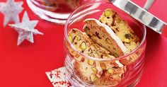 Relax with a nice cup of coffee and some traditional biscotti!