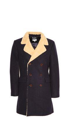 Gant Rugger Sherpa Doubler Coat Your Style, Blazer, Jackets, Fashion Design, Coats, Shopping, Clothes, Women, Down Jackets