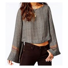 AMAZING FREE PEOPLE CROP TOP New with tags! If you have any questions please let me know. Absolutely NO TRADES or PAYPAL. Mahalo for stopping by. SELLER DISCOUNT 30% off 4 or more!! Just use the bundle feature. HAPPY POSHING! Free People Tops Crop Tops