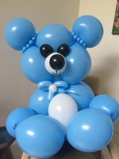 Teddy Bear #babyshower #balloons