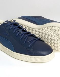 Puma | Puma Basket Classic Citi Trainers In Blue 36135202