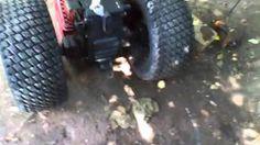 homemade row cultavators for a garden tractor - YouTube