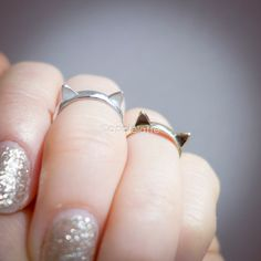 Hey, I found this really awesome Etsy listing at http://www.etsy.com/listing/163311969/cat-ring-kitty-cat-ring-cat-ears-ring