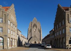 p.v. jensen-klint 11, grundtvig memorial church 1913-1940