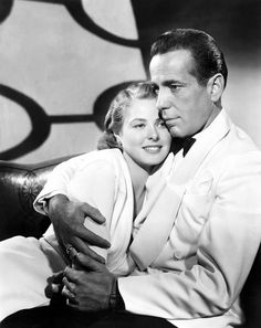 one of my favorites:  Ingrid Bergman & Humphrey Bogart, publicity shot for Casablanca (1942)  via betinaloves