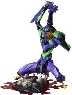 Revoltech Yamaguchi Evangelion Evolution EVA Unit 01 JAPAN *** More info could be found at the image url.