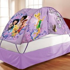 Fairies Bed Tent With Pushlight - Character Kids Room Decor - Events