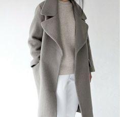long grey coat, waaaant