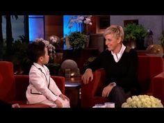 Six-Year-Old Piano Prodigy Dazzles.  Ellen is so funny, and this kid is amazing!