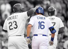 Andre Ethier bringing the Boys home with a 3 run blast.