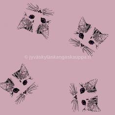 Suloisia käsinpiirrettyjä kissoja.