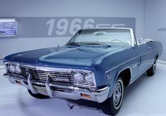 1966 Chevy Impala SS 427 Convertible.