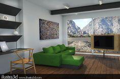 Render realizado por ilustra3d. Cliente: Laura Torres. Servicio online y presencial. Andorra