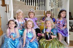 Disney Princess Bippity Boppity Boutique Party.  C.U.T.E.S.T. #disney #princesses