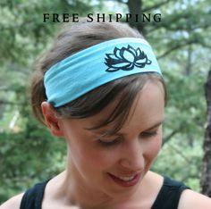Lotus Flower Yoga Headband