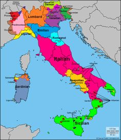 Languages/dialects of Italy