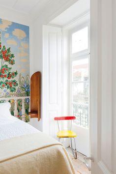 Bedroom at Baixa House, Lisbon