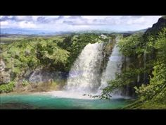 Hypnose zum einschlafen deutsch Wasserfall Blockadenlösung - YouTube