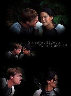 The Hunger Games – Catching Fire - Peeta Mallark – Josh Hutcherson - Jennifer Lawrence - Katniss Everdeen
