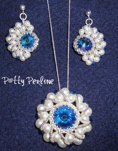 Love the earrings! Free tutorial  P@tty Perline: gennaio 2012