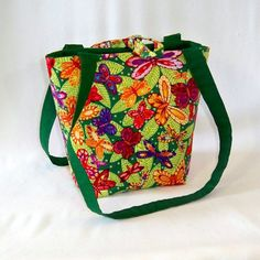 Butterfly Tote Bag Purse Small Handbag by ColleensDesigns