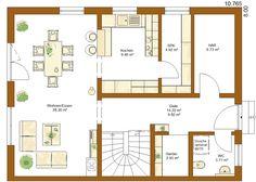 CLOU 136 Grundriss Erdgeschoss