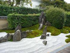 jardin sec d'ambiance zen