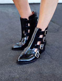 Evermore Buckle Boot by Jeffrey Campbell