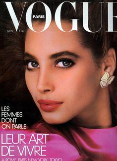'86 Christy Turlington Covers