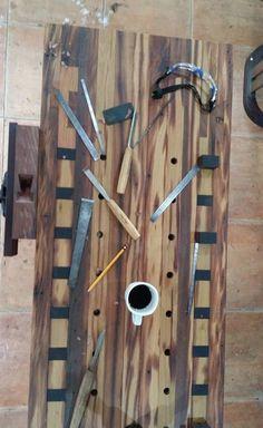 Wood Workbench.