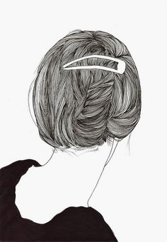 Find images and videos about hair, art and drawing on We Heart It - the app to get lost in what you love. Art And Illustration, Graphic Design Illustration, Engraving Illustration, Illustrations Posters, You Draw, How To Draw Hair, Drawing Sketches, Art Drawings, Ligne Claire