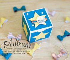 Crush On Colour: Stampin' Up! Artisan Design Team Blog Hop - Boxes and Bows!