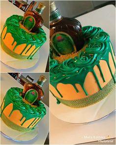 Birthday Cake Crown, Alcohol Birthday Cake, 24th Birthday Cake, Apple Birthday, Alcohol Cake, Birthday Cake For Husband, Adult Birthday Cakes, Birthday Cakes For Women, Birthday Ideas