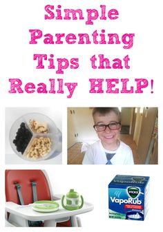 Simple Parenting Tips that Really HELP! The easiest (and most pain-free) way to remove a splinter, curing night time coughs and more simple but helpful tips. Love these!