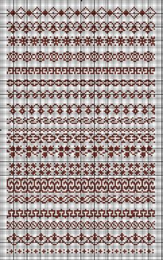 Hand Embroidery Design Patterns, Cross Stitch Sampler Patterns, Cross Stitch Borders, Cross Stitch Samplers, Cross Stitch Designs, Cross Stitching, Cross Stitch Embroidery, Cross Stitch Patterns, Fair Isle Knitting Patterns