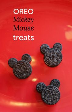Mickey Mouse Disney Party Treats and other great inspiration for your Disney themed party