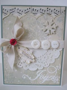 Midnite Lullabies Studio: two little words... - Rebekah's blog is filled with gorgeous cards. If you use this link, wander around at your own peril, because her blog is almost impossible to leave once you start looking.