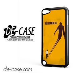 The Walking Dead In Orange DEAL-11089 Apple Phonecase Cover For Ipod Touch 5