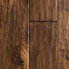 Harvest Hickory Handscraped hardwood floors