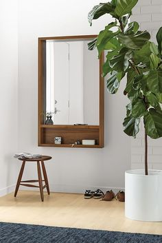 Rooms & catering - Loft Modern mirror with shelf - Modern mirror - Modern entrance furniture More notable examples of DIY home decor can be found at the link that guides you through the design Loft Wall, Home Decor Styles, Interior, Home Decor Bedroom, Diy Home Decor, Home Decor, Contemporary Home Decor, Trendy Home, Country Home Decor