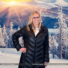 Stacie watches a majestic sunrise in her new designer glasses by J.F. Rey.  Shout if from the mountaintop! Eye Candy has the best glasses in Cleveland! Eye Candy Optical Cleveland – The Best Glasses Store!  (440) 250-9191 - Book Eye Exam over the Phone www.eye-candy-optical.com/Vision_and_Exams - Book Eye Exam Online!