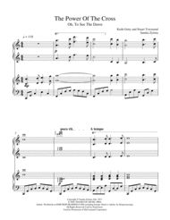 The Power of the Cross (Oh, To See The Dawn) tells the story of Jesus on the cross. This popular Getty and Townend hymn is arranged as a two-piano duet for the late intermediate pianist. This would be a great prelude or offertory for Easter or Communion Sunday. (Approximately 4:00, 8 pages)