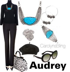 """Audrey"" by carolynsbling on Polyvore"