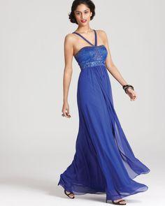 608167af0f99 Sue Wong Dress - Beaded V Strap Women - Dresses - Bloomingdale s