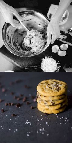 Before and After: Chocolate Chip Cookies by The Goodship