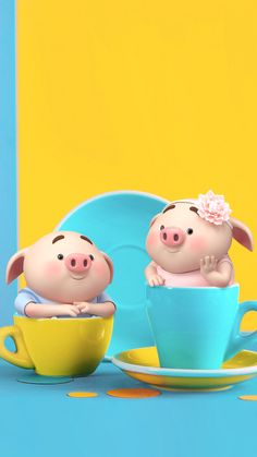 This Little Piggy, Little Pigs, Kawaii Pig, Pig Wallpaper, Sheep Pig, Cute Piglets, Pig Drawing, Pig Illustration, Cute Cartoon Characters