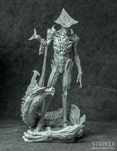 Dominic Qwek - Striker $210 http://www.dominicqwek.com/collections/resin-sculptures/products/striker