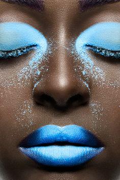"""Allure"" for The Alchemist Magazine - Beauty Issue 2014 on Makeup Arts Served Makeup Art, Hair Makeup, Design Trends 2018, Beauty Shoot, Lip Art, Alchemist, Shades Of Blue, Makeup Inspiration, Best Makeup Products"