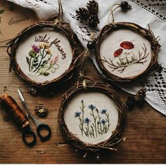 Wonderful Ribbon Embroidery Flowers by Hand Ideas. Enchanting Ribbon Embroidery Flowers by Hand Ideas. Embroidery Designs, Embroidery Hoop Art, Hand Embroidery Patterns, Ribbon Embroidery, Cross Stitch Embroidery, Embroidery Store, Cross Stitching, Fabric Crafts, Needlework