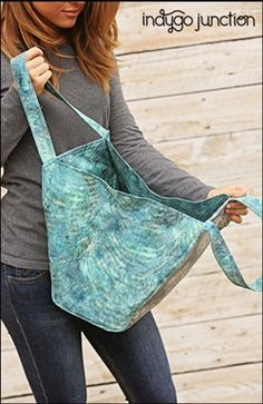 Tribeca Tote sewing pattern by Indygo Junction